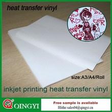 Inkjet heat transfer paper for clothing
