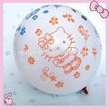 12 pulgadas de látex natural la decoración del globo