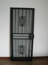 Security Steel Door, Steel Security Door, Wrought Iron Storm Door