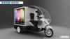 YEESO Advertising Trikes, Mobile Advertising Trike, Electric Advertising Cargo Trike