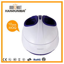 2014 hot sale air pressure heating health care electric massager for foot relaxing chair
