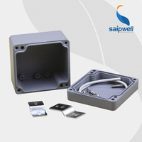 Saipwell High Quality Aluminum Waterproof Box With CE Certification / IP66 Enclosure