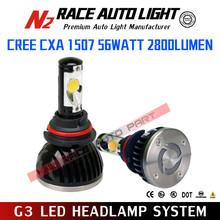 Lifetime Warranty G3 56w High Power led headlight tuning light