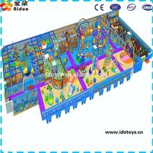 Kids entertainment indoor games used indoor playground equipment for sale,plastic castle playhouse indoor