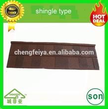 wholesale stone coated roofing sheet shingle type