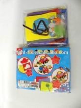 wholesales kids educational toys/fashion EVA foam stickers/kids creative foam handmade own car and trucks