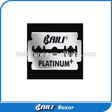high quality double edge razor blade platinum