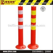 Flexible Elasticity Traffic Plastic warning post