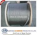 venta caliente de acero de cuerda de alambre del carrete