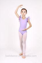 New Style girl's Flare short sleeve Leotard for ballet dance dress D031008
