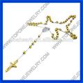2014 cristão sagrada açoinoxidável rosário colar jóias fabricante na china