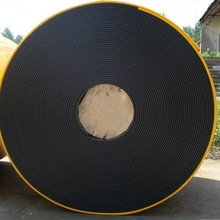 NN100 4ply 600mm width fabric canvas conveyor belt with Better mechanical fastener holding properties