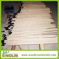Ronda de postes de madera/escoba polos/polos de la fregona