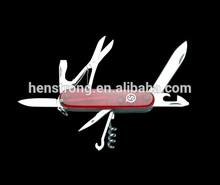 Fine Blanking Folding Pocket Stainless Steel multipurpose knife