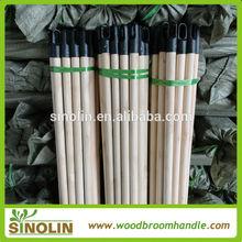 round wooden mop poles