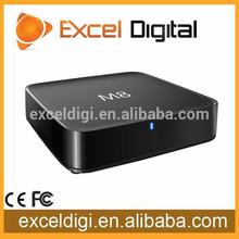 android 4.4 quad core amlogic s802 tv box, 4k tv