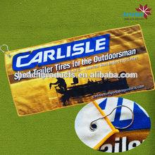 venta al por mayor baratos golf de microfibra toallas gancho del club de golf