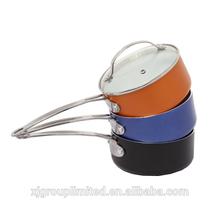 ceramic non-stick aluminum pot XJ-12604