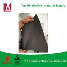 En471 fluorescent t c reflector black reflective fabric