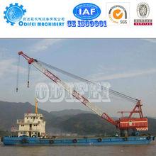 Floating Crane Barge For Sale