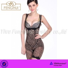 Sexy leopard conjoined corsets