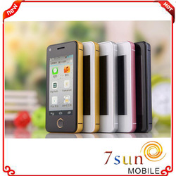 """china wholesale 2.45"""" mini phonebaby Dual Core SIM cards Android 4.0 GSM smart Cell mobile Phone ultra slim android smart phone"""