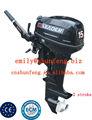 Alta qualidade& melhor preço utilizado motor de popa do barco motor de 15hp para venda, com aprovação ce
