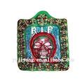 cráneo cara redonda de plástico de halloween fantasma de la decoración