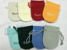 wholesales microfiber jewelry pouches velvet gift bags