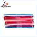 Hot Sale High Quality Patterned 100% Polyester Satin Leaf Ribbon