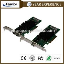 10000Mbps Ethernet Optical Fiber Card Server Application PCI Express Network Adapter