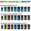 High Quality Mobile Phone Compass Waterproof Bag for iphone 6 , PVC waterproof phone bag for iphone6 plus