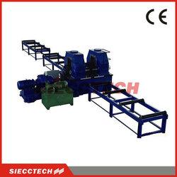 European Standard H Beam Steel Flange Leveling Machine
