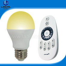 2.4Ghz group remote controlled color temperature and brightness dimming LED light