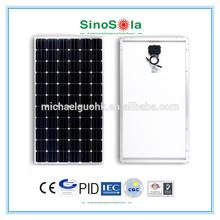 sinosola's 280watts solar panel price with TUV/IEC61215/IEC61730/CEC/CE/PID