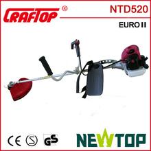 1.6kw 52cc brushcutter NTD520 rosy new model
