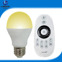 E27 energy saving adjustable color temperature 6w led wifi bulb