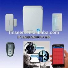 Wireless 868mhz burglar alarm system RF-FSK Home Security Alarm Smart APP IP Alarm