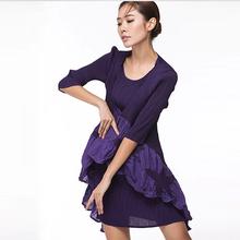 High quality boutique dress wholesale OEM original design Japan new style pleated dress
