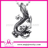 antiallergic wear-resisting classic wild dragon casting pendant myanmar jewellery