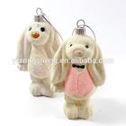 hanging christmas tree dog toy