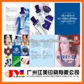 Laminación brillante publicidad libro/flyers/prospecto/catálogo/folleto/deimpresión de la revista.
