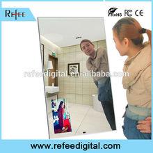 32 - 55 inch Wall Mounted Magic Mirror TV Display LCD Media Player Digital Signage
