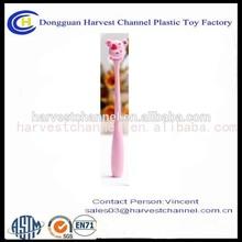 funny high quality bendable plastic ball pen CUTE PVC PEN