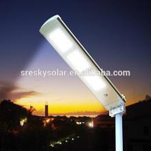 Aluminum Post 12W Green Power Solar Led Light Ip65