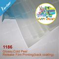 Micron 75/100 excelente qualidade sexo quente azul rolos de filme para a impressão da tela
