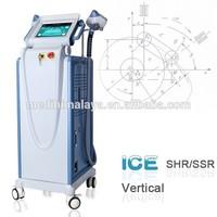 china supplier ipl shr hair removal laser level machine