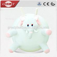 plush animal hopper balls for child