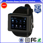 New 2014 kids gps watch phone MTK6515 Android 4.1 Dual core RAM512M ROM512M watch Smart phone