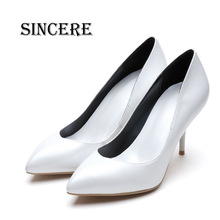 Luxury Brand Style Women Pure Leather Shoe